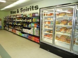 Dairy, frozen food,corner market